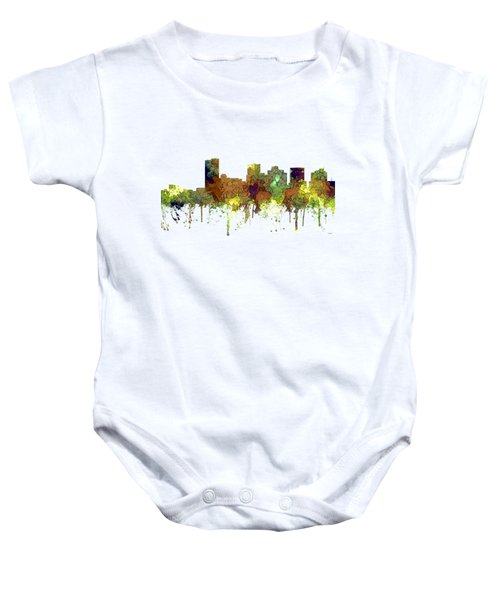 Phoenix Arizona Skyline Baby Onesie