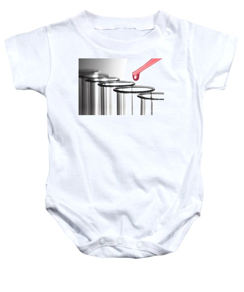 Laboratory Experiment In Science Research Lab Baby Onesie