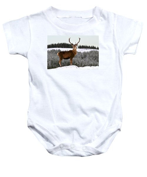 Red Deer Stag Baby Onesie