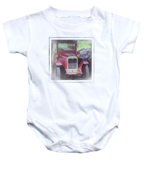 1920 International Farm Truck Baby Onesie