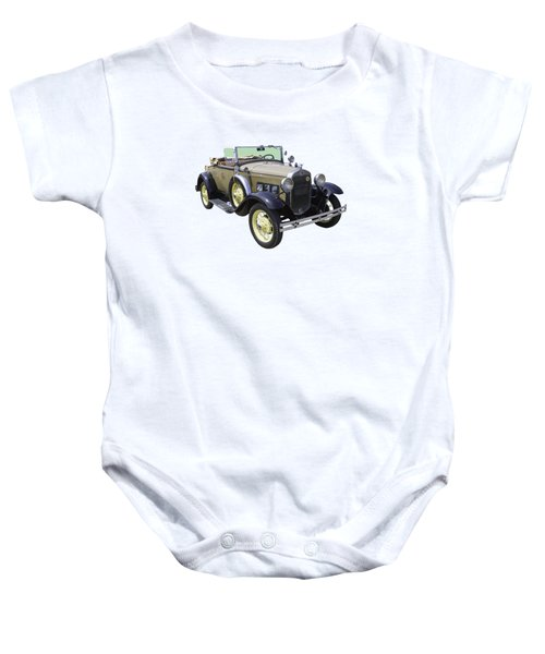 1931 Ford Model A Cabriolet Baby Onesie