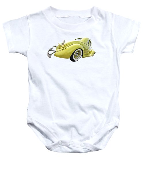 1935 Ford Coupe Baby Onesie by Gill Billington