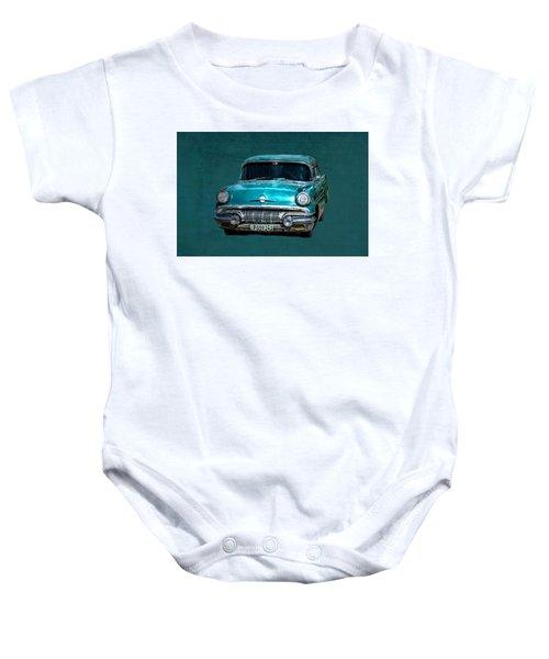1957 Pontiac Bonneville Baby Onesie
