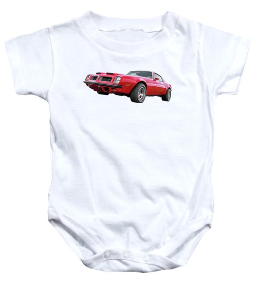 1974 Pontiac Firebird Formula 400 Baby Onesie