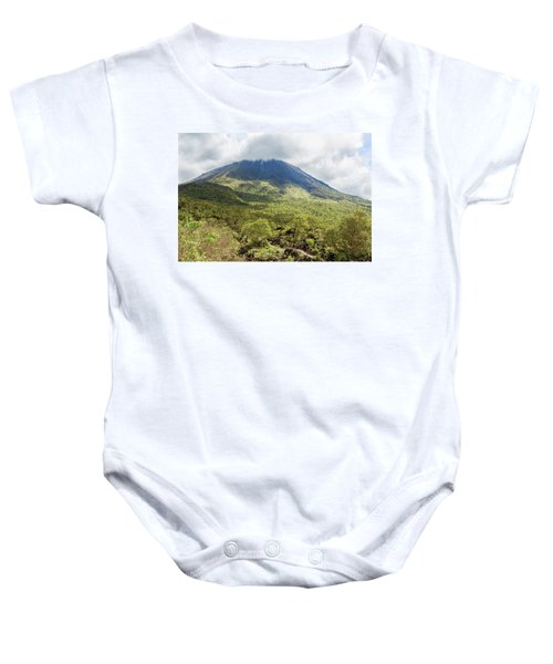 Arenal Volcano, Costa Rica Baby Onesie