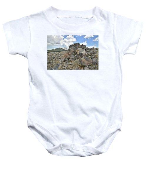 Big Horn Pass In Wyoming Baby Onesie