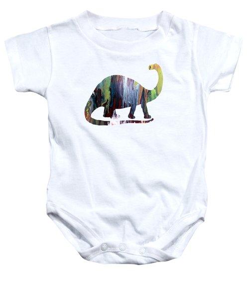 Brontosaurus Baby Onesie by Mordax Furittus