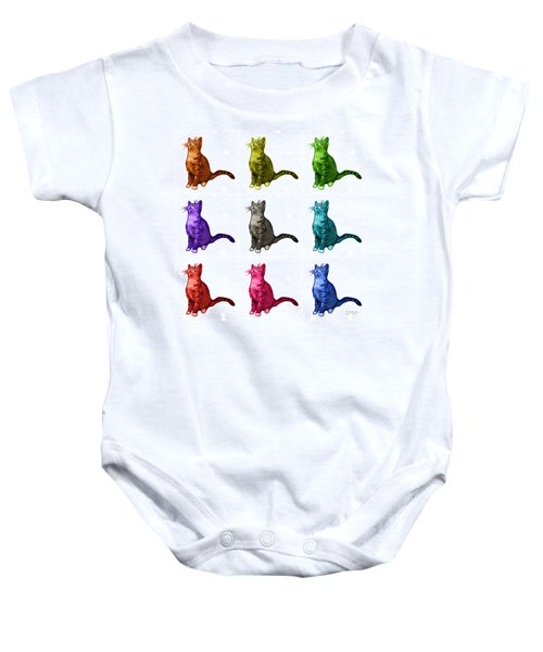Cat Art - 3771 Bb Baby Onesie
