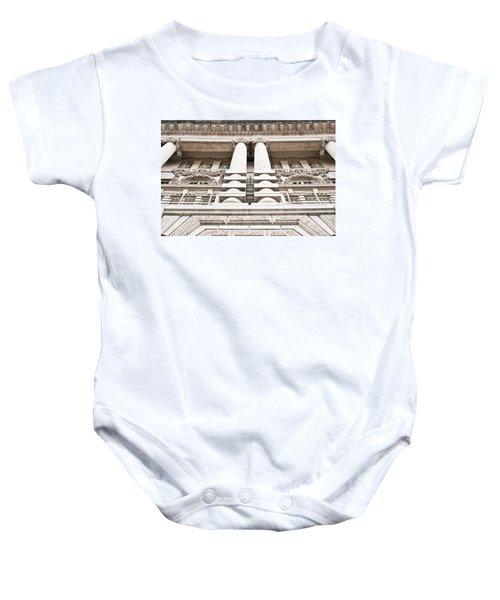 Classic Architecture Baby Onesie