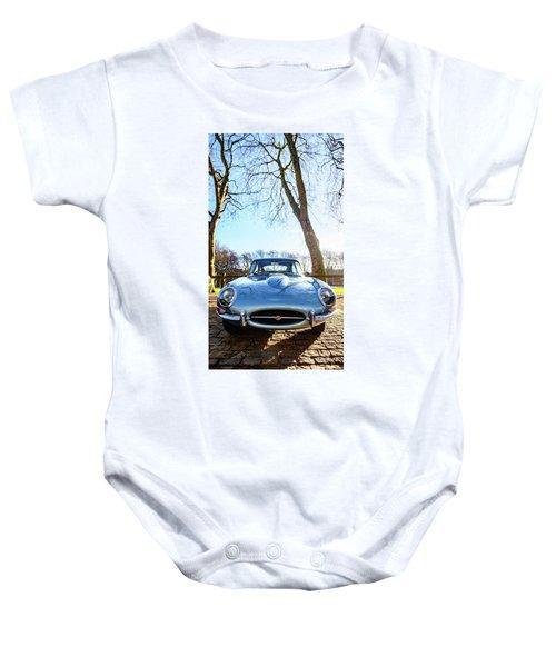 E Type Jaguar Baby Onesie