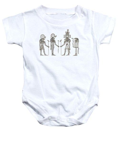 Gods Of Ancient Egypt Baby Onesie