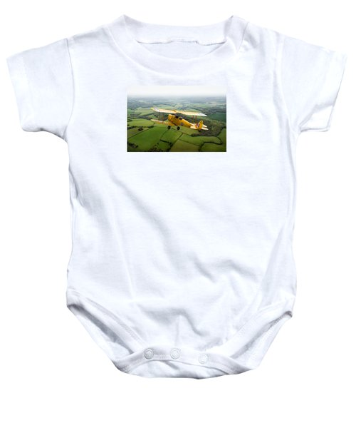 Baby Onesie featuring the photograph Going Solo by Gary Eason