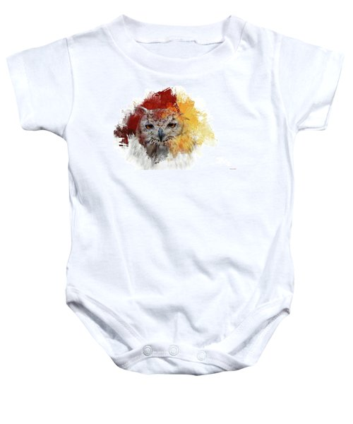 Indian Eagle-owl Baby Onesie