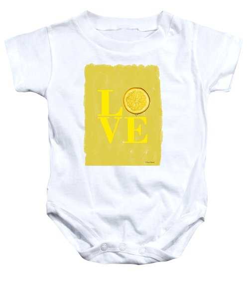 Lemon Baby Onesie by Mark Rogan