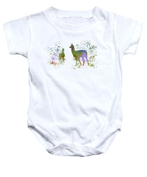 Llamas Baby Onesie