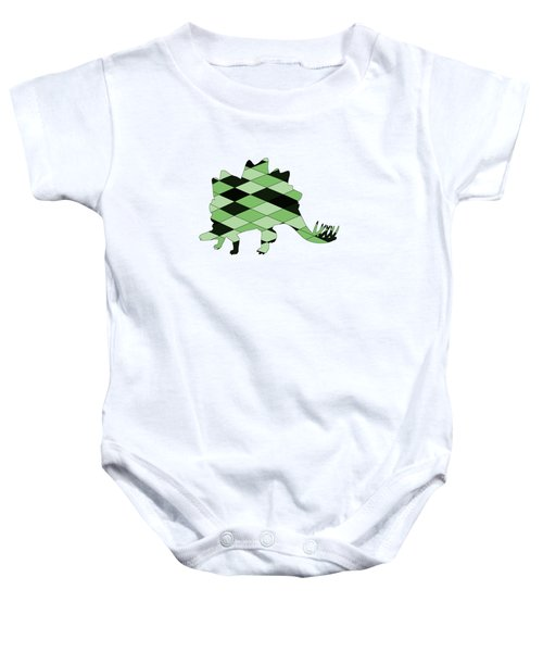 Stegosaurus Baby Onesie by Mordax Furittus