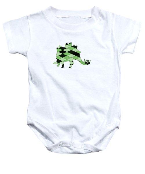 Stegosaurus Baby Onesie