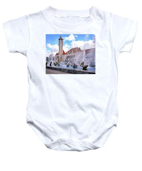 Union Station - St Louis Baby Onesie
