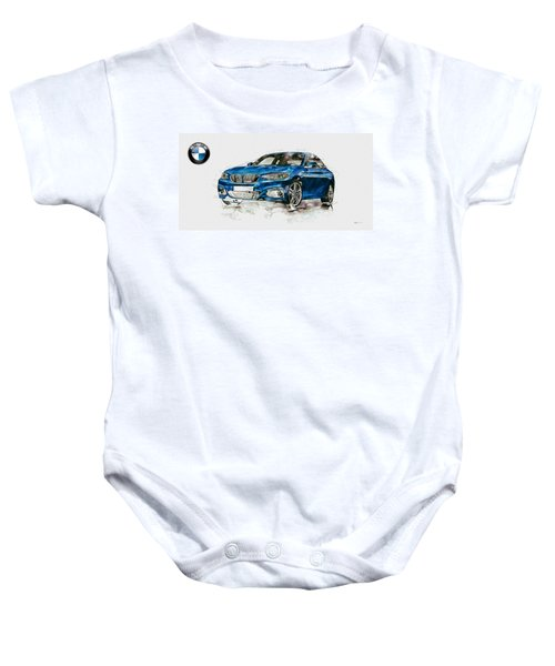 2014 B M W 2 Series Coupe With 3d Badge Baby Onesie