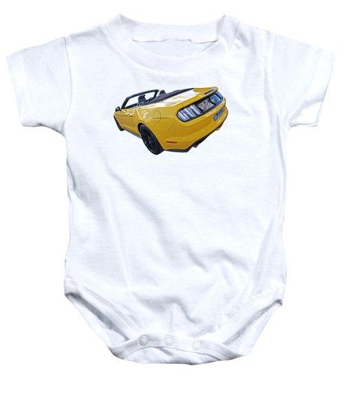 2016 Rhd Mustang Gt Baby Onesie