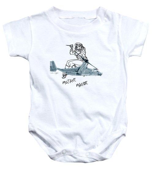 Bell Boeing Cv-22b Osprey Mojave Maude Baby Onesie