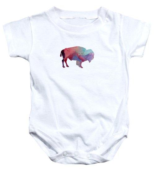Bison Baby Onesie by Mordax Furittus