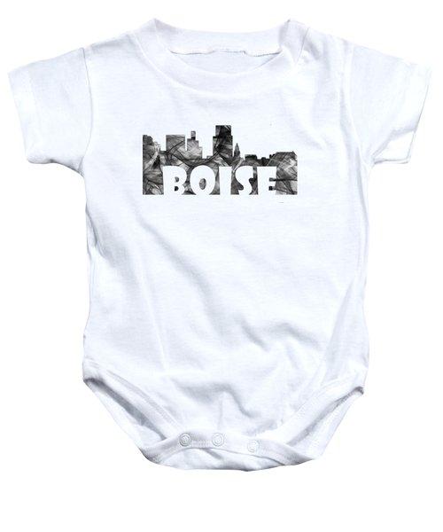Boise Idaho Skyline Baby Onesie
