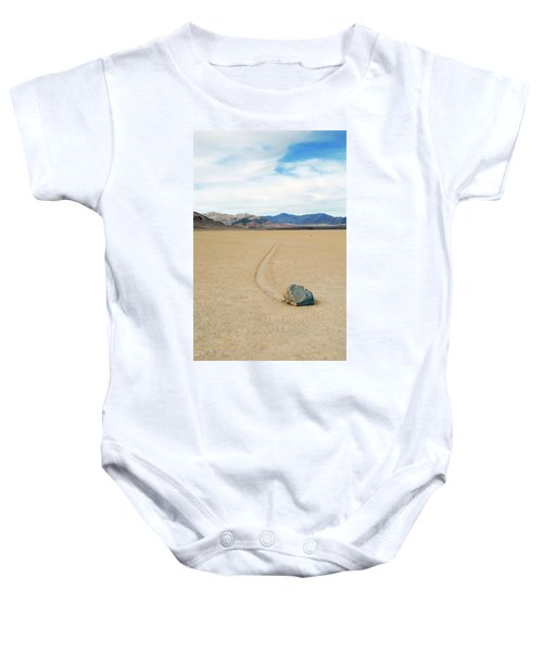Death Valley Racetrack Baby Onesie