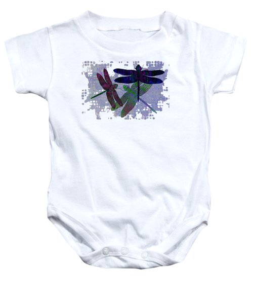 3 Dragonfly Baby Onesie