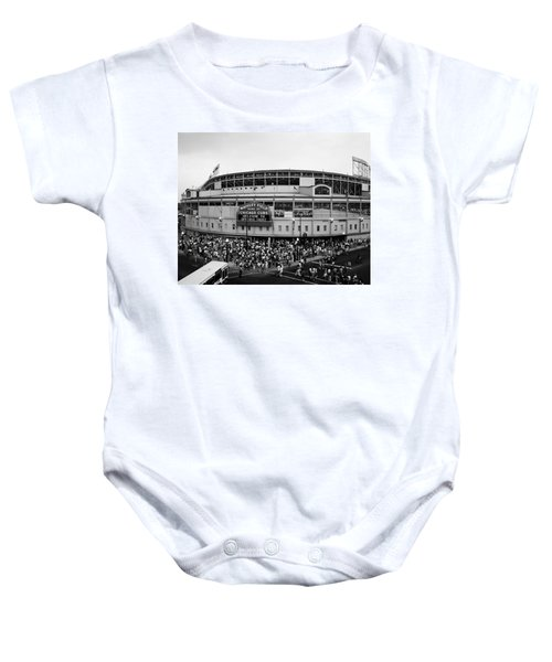 High Angle View Of Tourists Baby Onesie by Panoramic Images