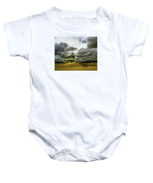 House At The End Of The Road Baby Onesie