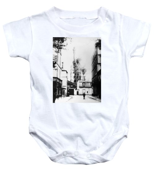 Statue Of Liberty, Paris Baby Onesie