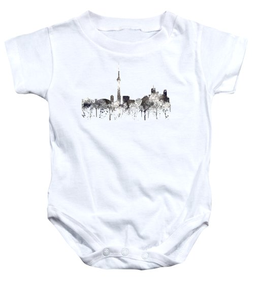 Toronto Ont.skyline Baby Onesie