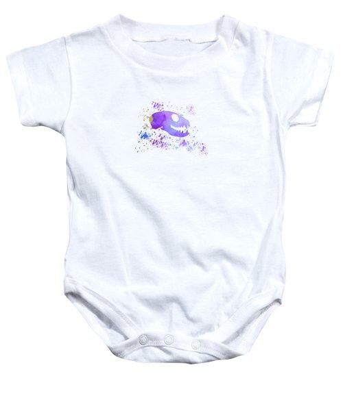Meerkat Skull Baby Onesie