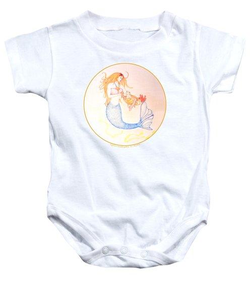 Mermaid Baby Onesie by M Gilroy