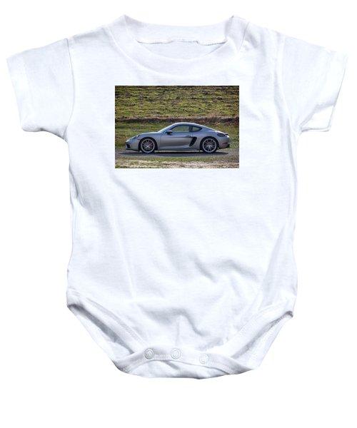 #porsche #718cayman S #print Baby Onesie