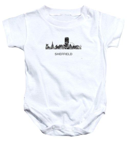 Sheffield England Skyline Baby Onesie
