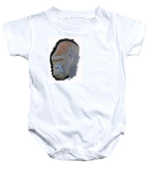 Silverback Baby Onesie