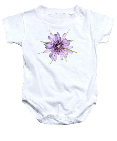 Salsify Flower Baby Onesie