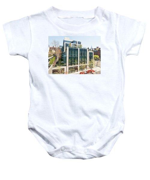 500 W 21st Street 3 Baby Onesie
