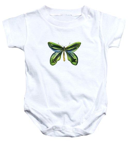 6 Queen Alexandra Butterfly Baby Onesie