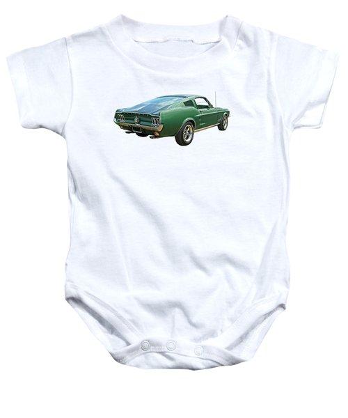 67 Mustang Fastback Baby Onesie