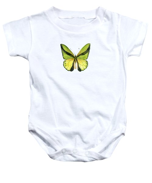 8 Goliath Birdwing Butterfly Baby Onesie