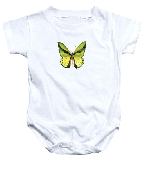 8 Goliath Birdwing Butterfly Baby Onesie