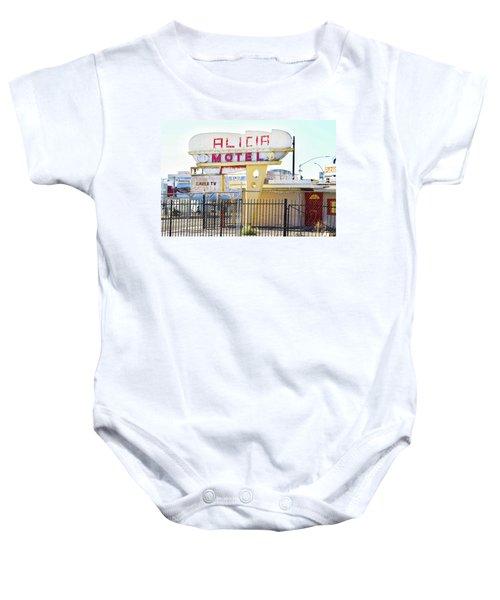 Remnants Of Vintage Vegas Baby Onesie