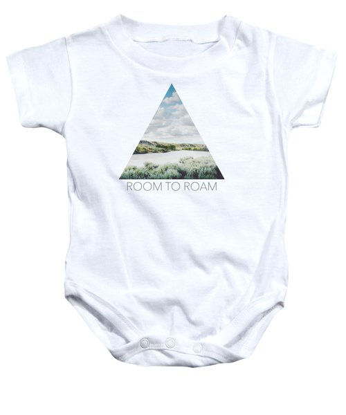 A Bend In The Yellowstone Baby Onesie