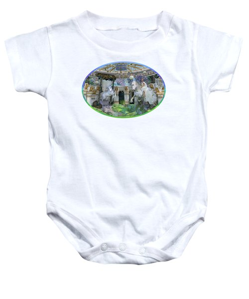 A Curious Dream Baby Onesie