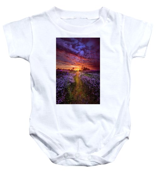 A Peaceful Proposition Baby Onesie