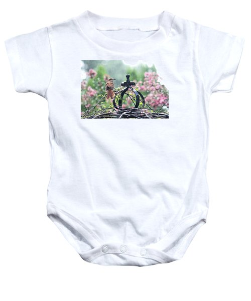A Rainy Summer Day Baby Onesie
