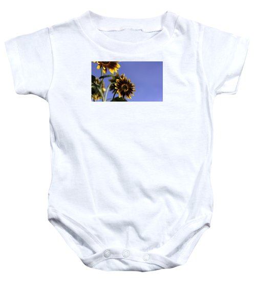 Baby Onesie featuring the photograph A Summer's Day by Lora Lee Chapman